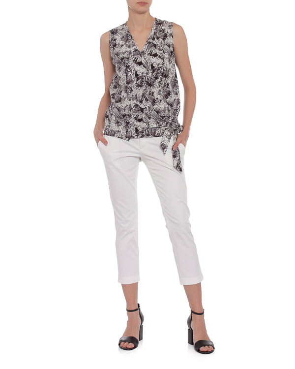 женская брюки DSQUARED2, сезон: лето 2015. Купить за 13200 руб.   Фото $i