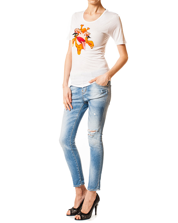 женская джинсы DSQUARED, сезон: лето 2014. Купить за 9700 руб.   Фото $i