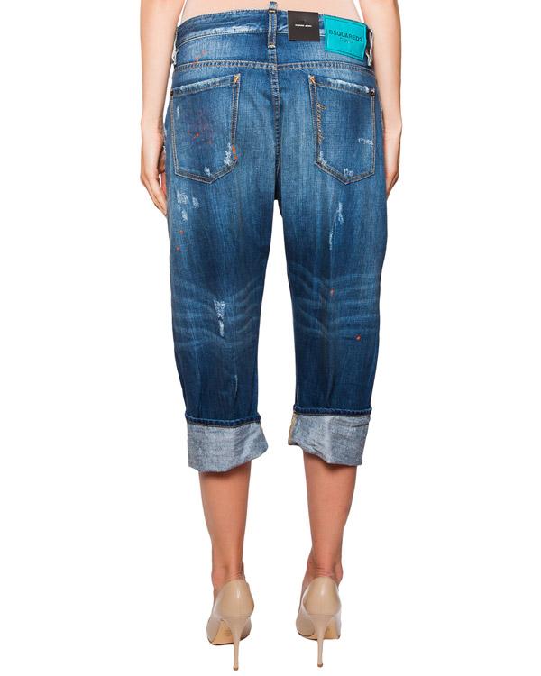 женская джинсы DSQUARED2, сезон: лето 2016. Купить за 21300 руб.   Фото $i