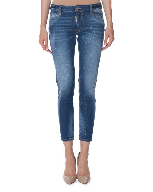 джинсы Twiggy Slim зауженного силуэта артикул S75LA0925 марки DSQUARED2 купить за 19400 руб.
