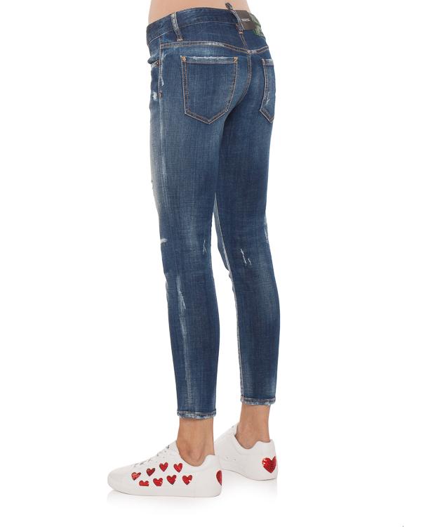 женская джинсы DSQUARED2, сезон: зима 2018/19. Купить за 33900 руб. | Фото 2