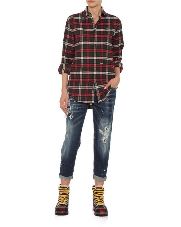 женская джинсы DSQUARED2, сезон: зима 2018/19. Купить за 27000 руб. | Фото $i