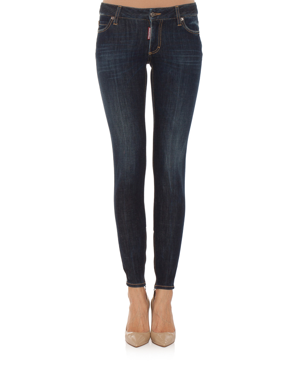 женская джинсы DSQUARED2, сезон: зима 2018/19. Купить за 26000 руб. | Фото $i