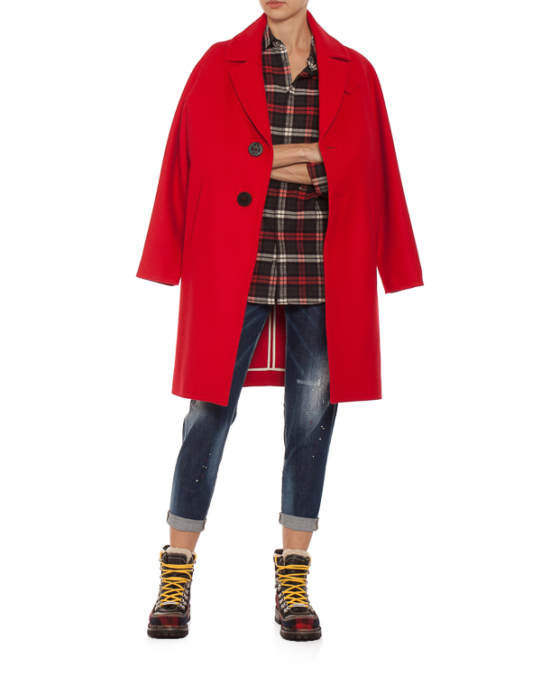женская джинсы DSQUARED2, сезон: зима 2018/19. Купить за 23500 руб.   Фото 3