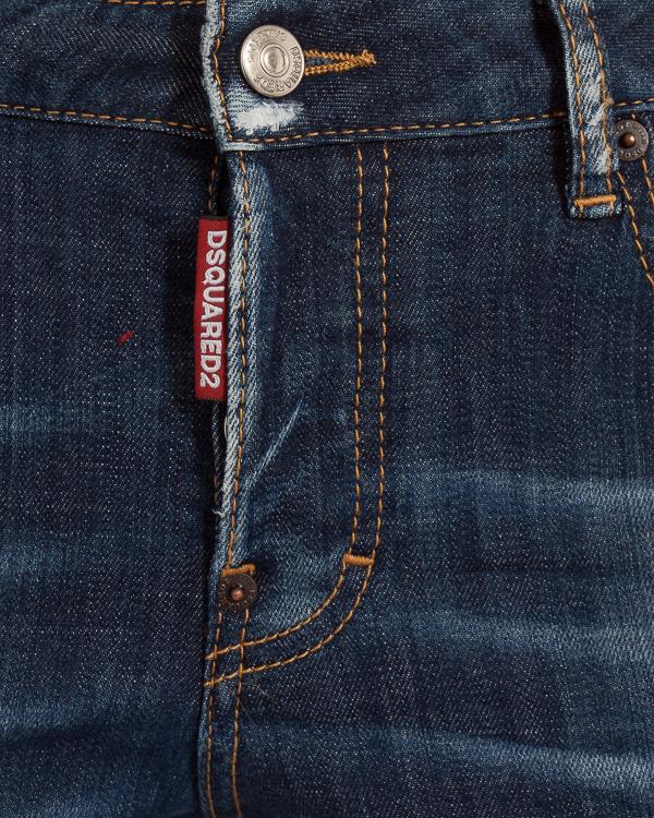 женская джинсы DSQUARED2, сезон: зима 2018/19. Купить за 23500 руб.   Фото 4