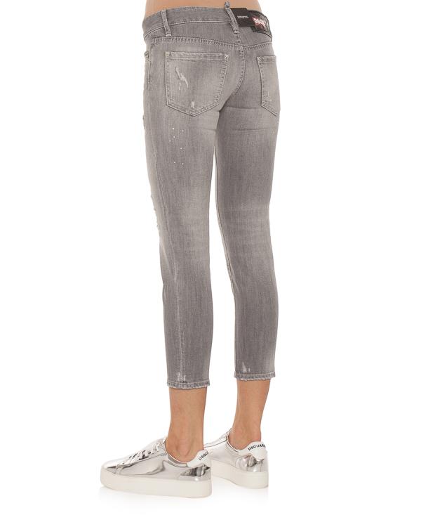 женская джинсы DSQUARED2, сезон: зима 2018/19. Купить за 7400 руб. | Фото 2
