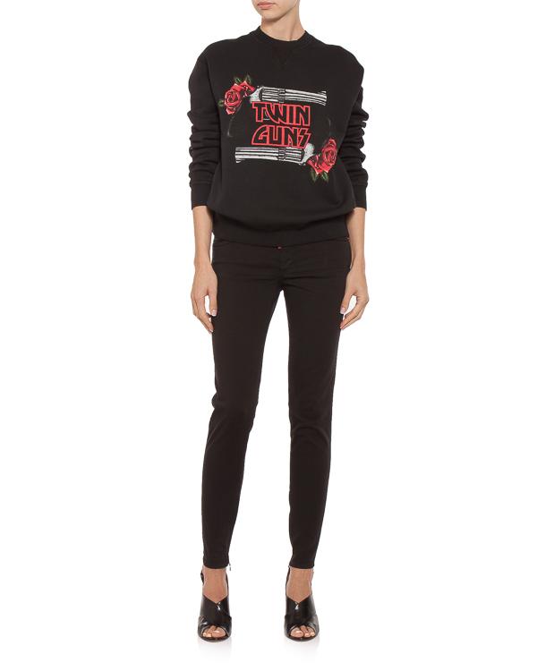 женская джинсы DSQUARED2, сезон: зима 2018/19. Купить за 22100 руб. | Фото 3