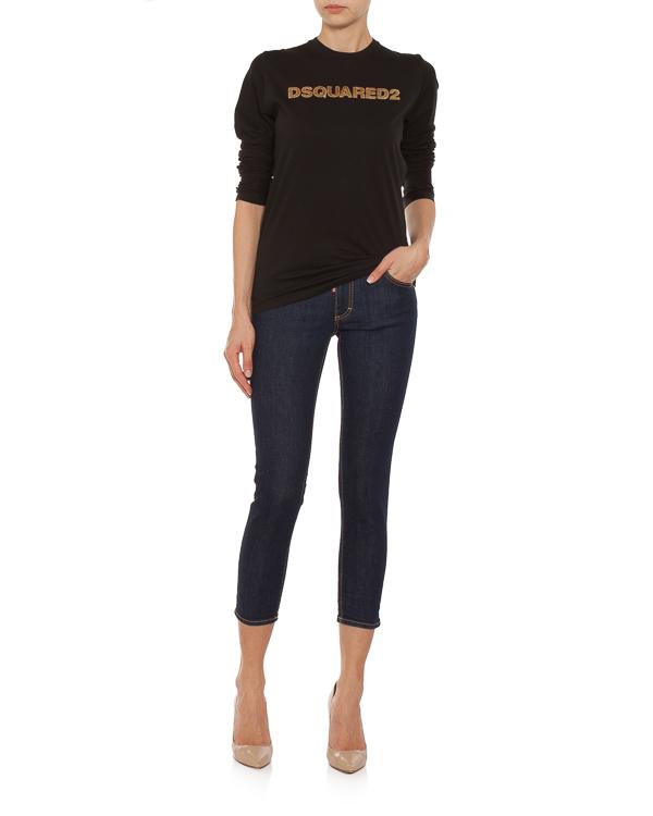 женская джинсы DSQUARED2, сезон: зима 2018/19. Купить за 21300 руб.   Фото $i