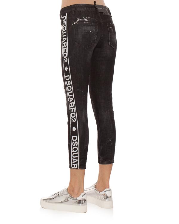 женская джинсы DSQUARED2, сезон: зима 2018/19. Купить за 9900 руб. | Фото 2
