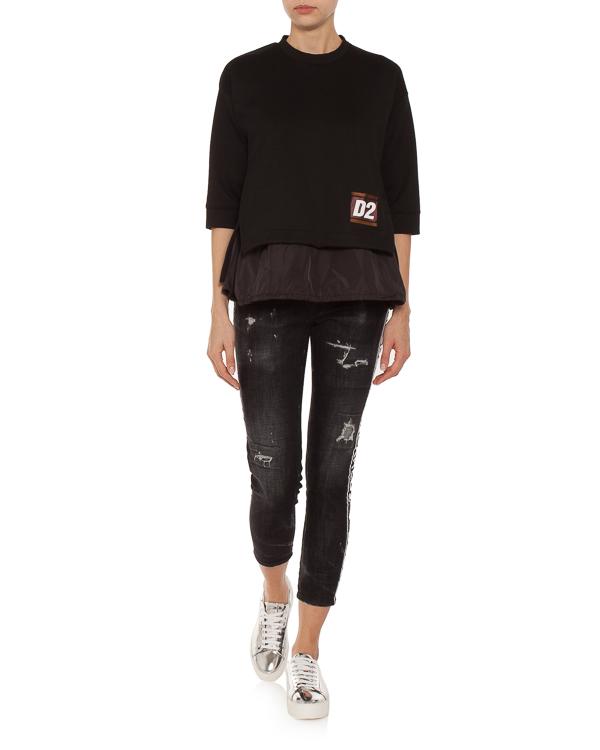 женская джинсы DSQUARED2, сезон: зима 2018/19. Купить за 9900 руб. | Фото 3
