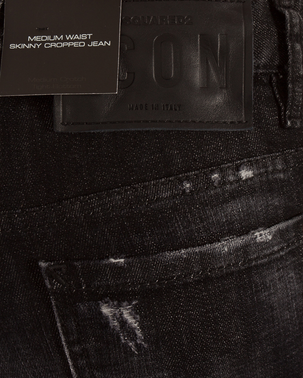 женская джинсы DSQUARED2, сезон: зима 2018/19. Купить за 9900 руб. | Фото 4