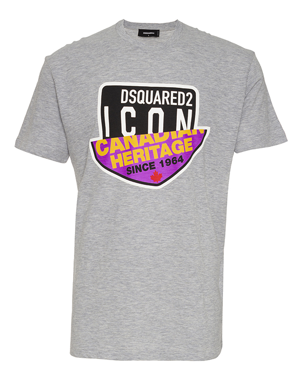 DSQUARED2 из меланжевого хлопка  артикул  марки DSQUARED2 купить за 22100 руб.