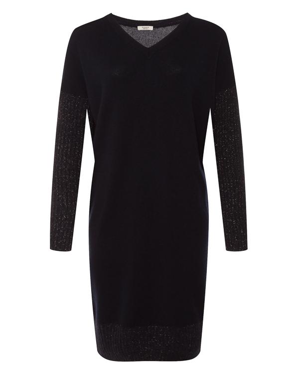 платье из шерсти и шелка с добавлением кашемира  артикул S92122F12 марки Peserico купить за 32100 руб.
