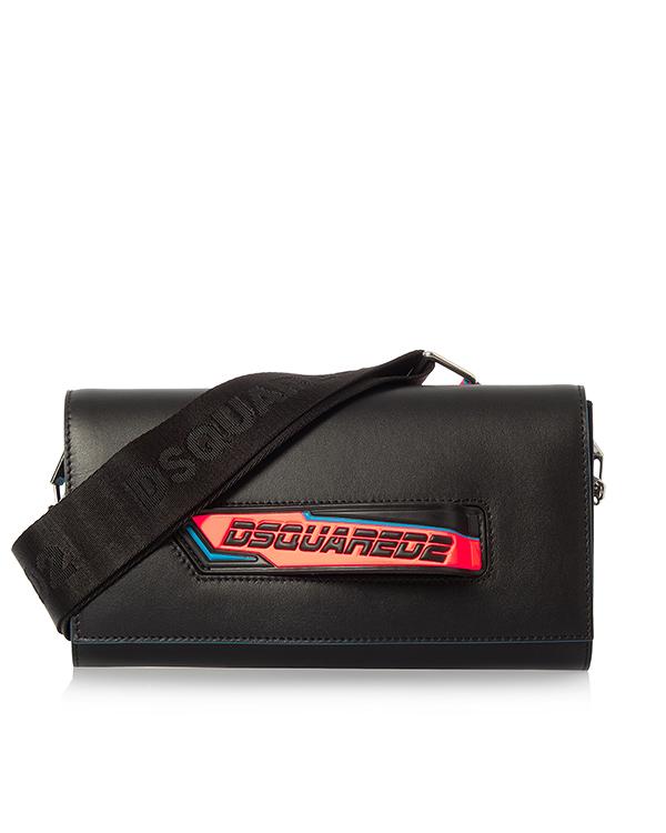 DSQUARED2 из кожи с логотипом бренда артикул  марки DSQUARED2 купить за 46200 руб.