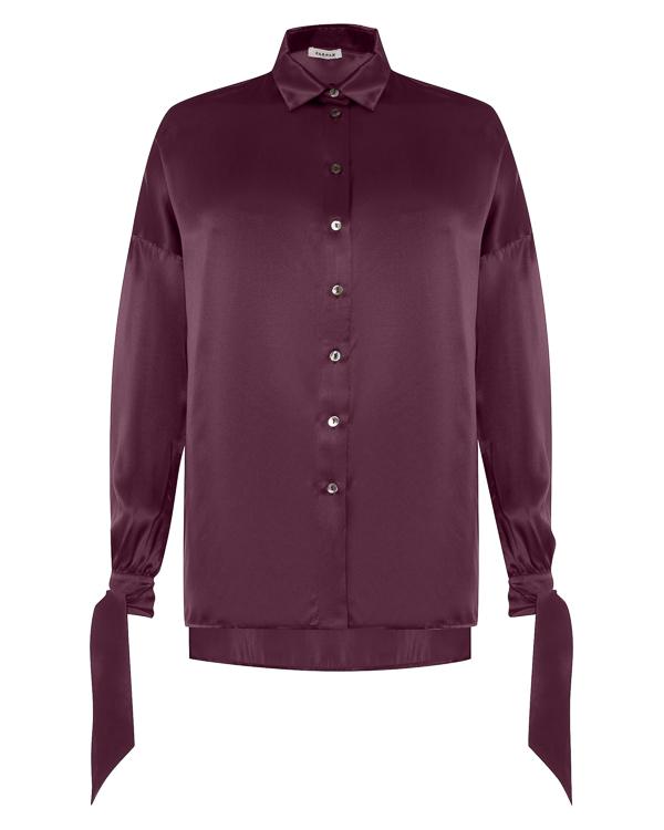 блуза из атласного шелка артикул SEDREAM380419 марки P.A.R.O.S.H. купить за 30300 руб.