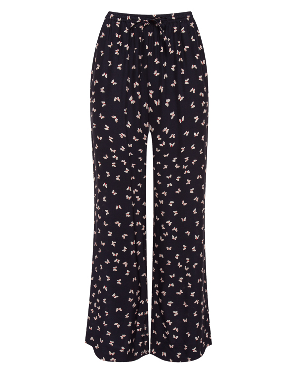 брюки из тонкого шелка с принтом артикул SIMPATY230507X марки P.A.R.O.S.H. купить за 18400 руб.