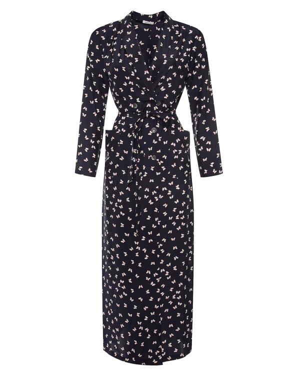 платье на запах из шелка  артикул SIMPATY430638 марки P.A.R.O.S.H. купить за 31500 руб.