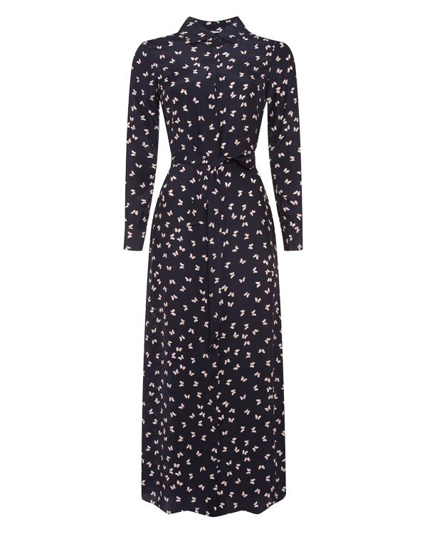 платье из шелка с поясом  артикул SIMPATY720672X марки P.A.R.O.S.H. купить за 33600 руб.
