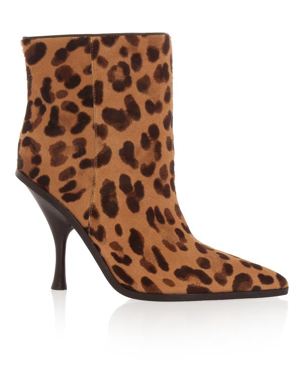 Sigerson Morrison из кожи и ворса с леопардовым принтом артикул  марки Sigerson Morrison купить за 15300 руб.