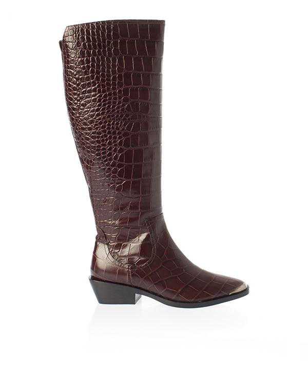 Sigerson Morrison из кожи с крупной фактурой под рептилию  артикул  марки Sigerson Morrison купить за 41800 руб.