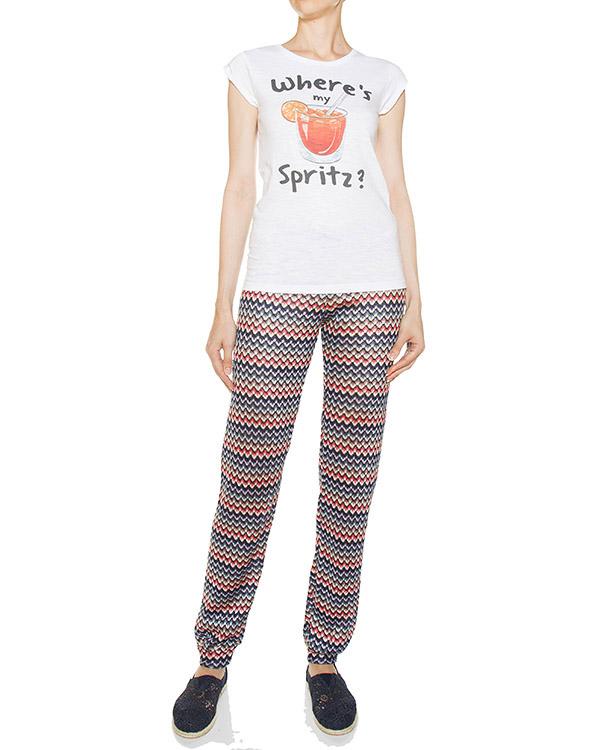 женская брюки MC2 Saint Barth, сезон: лето 2017. Купить за 3900 руб.   Фото $i