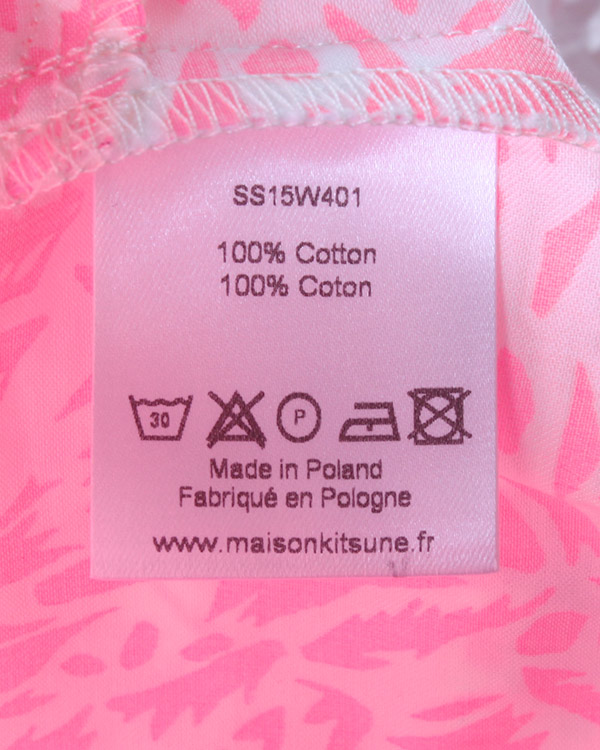 женская платье Maison Kitsune, сезон: лето 2015. Купить за 1900 руб. | Фото 4