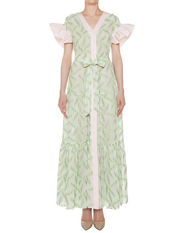платье  артикул SS17345greenleaves марки KATЯ DOBRЯKOVA купить за 15000 руб.
