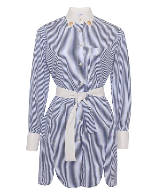 FORTE DEI MARMI COUTURE рубашечного кроя из хлопка  артикул SS182005 марки Forte Couture купить за 16800 руб.