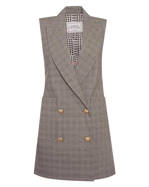FORTE DEI MARMI COUTURE удлиненного силуэта из хлопка артикул SS183009 марки Forte Couture купить за 26200 руб.