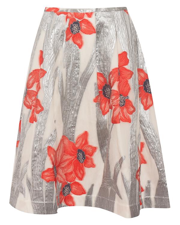 Sara Roka из смеси шелка и нейлона с цветочным принтом артикул SS185802 марки Sara Roka купить за 23500 руб.