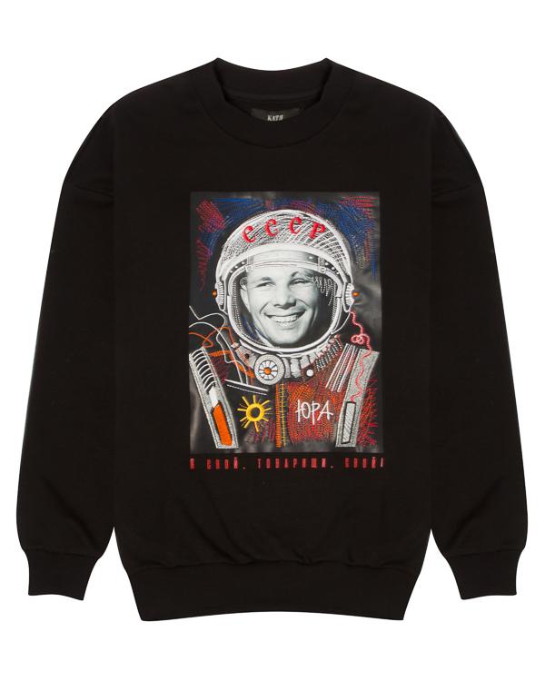 KATЯ DOBRЯKOVA из хлопка с вышивкой в теме космос артикул  марки KATЯ DOBRЯKOVA купить за 16900 руб.