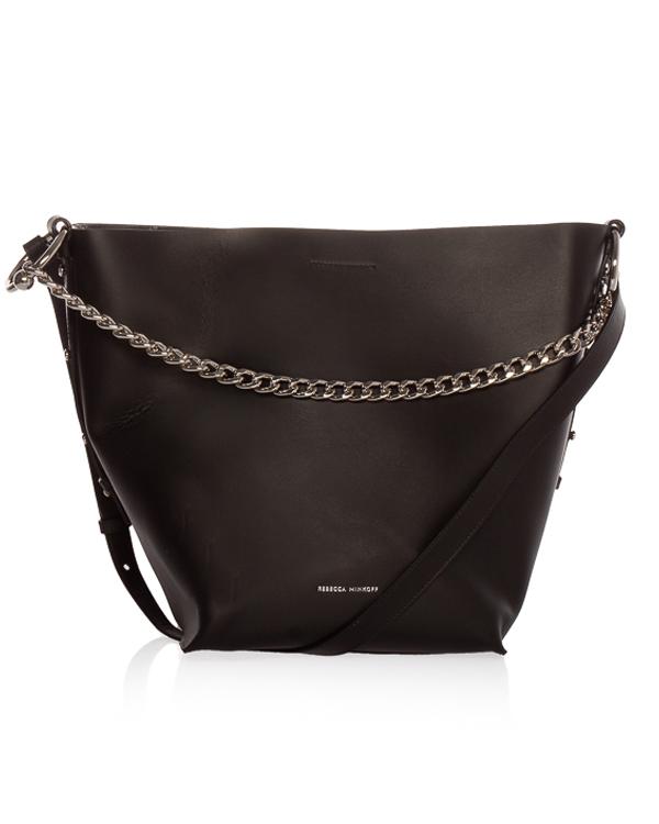 Rebecca Minkoff -торба Kate из плотной кожи  артикул  марки Rebecca Minkoff купить за 29500 руб.