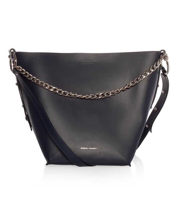 Rebecca Minkoff -торба Kate из плотной кожи артикул  марки Rebecca Minkoff купить за 14800 руб.