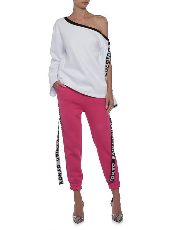 женская брюки Saint-Tokyo, сезон: зима 2017/18. Купить за 7500 руб. | Фото $i