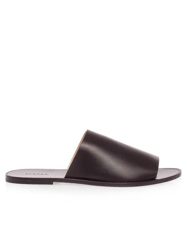 сандалии из мягкой кожи  артикул STRIPSHOE070067 марки P.A.R.O.S.H. купить за 19000 руб.