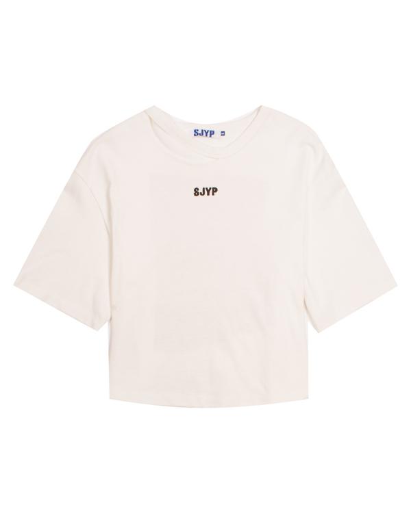 SJYP укороченного силуэта с принтом артикул  марки SJYP купить за 4300 руб.