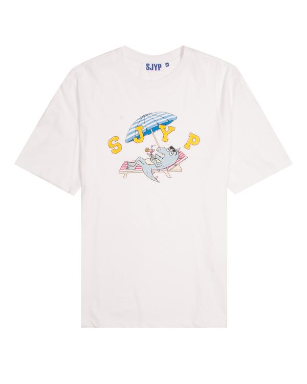 SJYP из хлопка с принтом артикул  марки SJYP купить за 3100 руб.