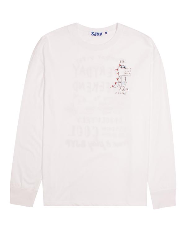 SJYP из мягкого хлопка с принтом артикул  марки SJYP купить за 5600 руб.