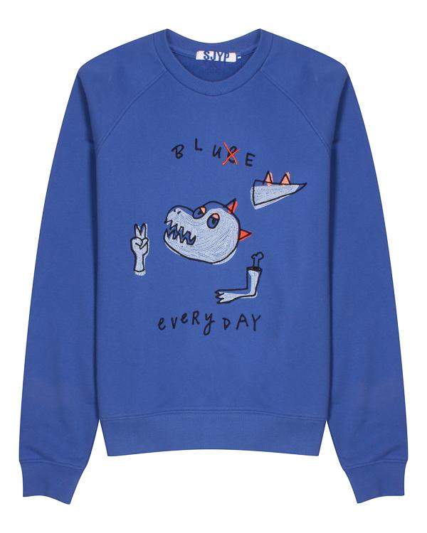 SJYP из хлопка с вышивкой артикул  марки SJYP купить за 8000 руб.