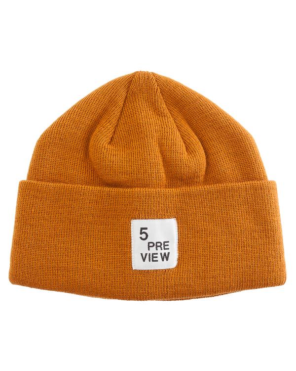 шапка с логотипом бренда  артикул T590 марки 5Preview купить за 2500 руб.