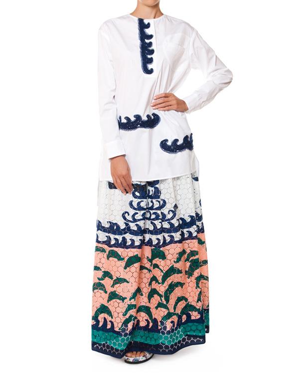 женская юбка Tsumori Chisato, сезон: лето 2015. Купить за 30100 руб. | Фото $i