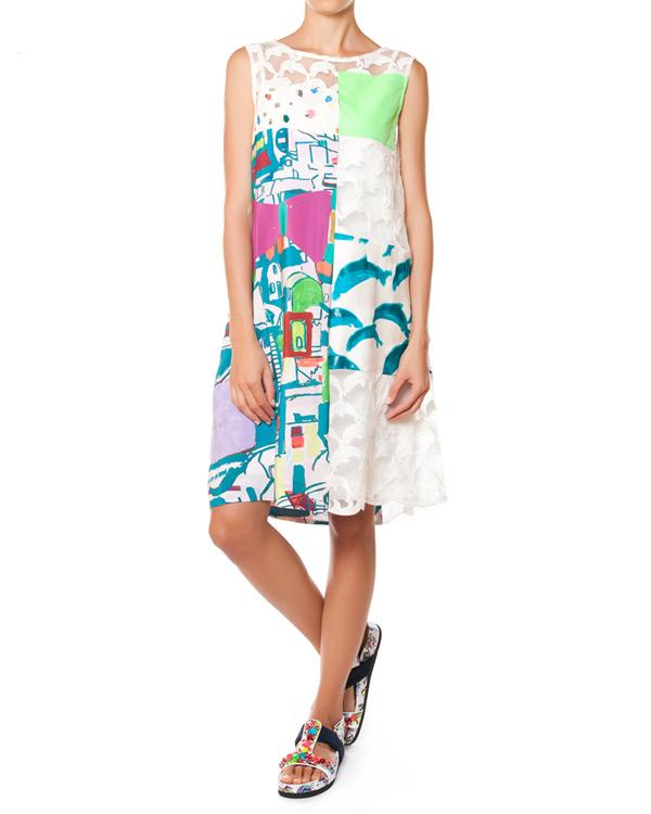 женская платье Tsumori Chisato, сезон: лето 2015. Купить за 36300 руб.   Фото $i