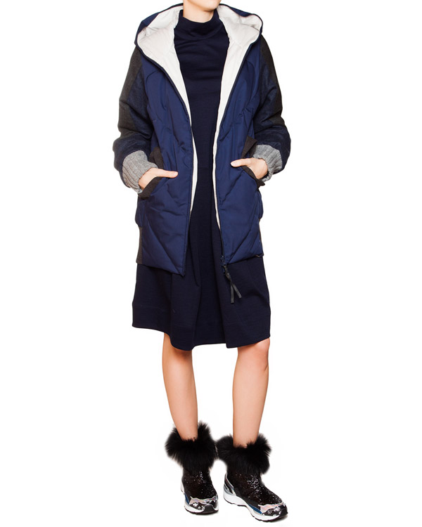 женская пуховик Tsumori Chisato, сезон: зима 2015/16. Купить за 33300 руб. | Фото $i