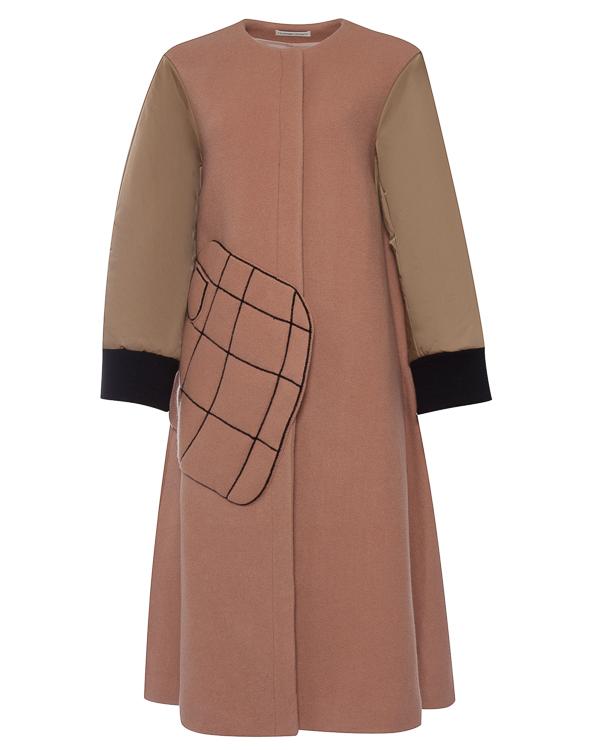 пальто А-образного силуэта из шерсти артикул TC79FA088 марки Tsumori Chisato купить за 63400 руб.