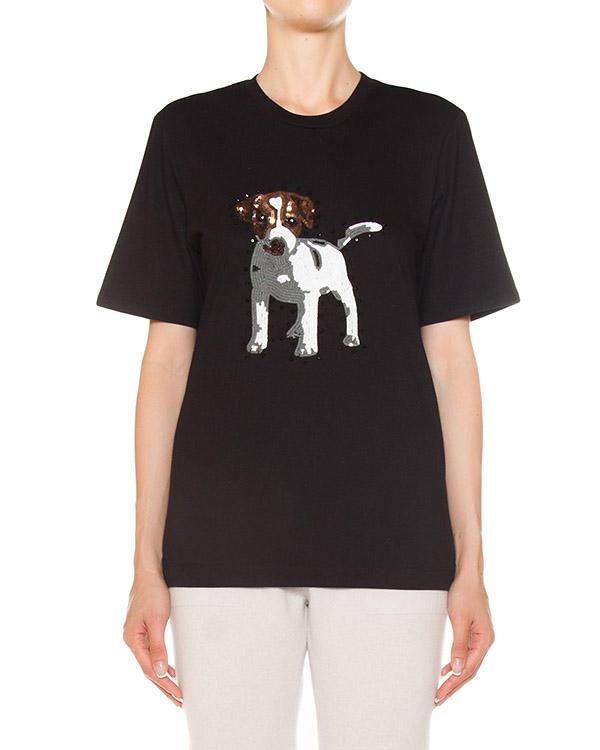 футболка из трикотажного хлопка  артикул TP1118 марки Markus Lupfer купить за 12500 руб.
