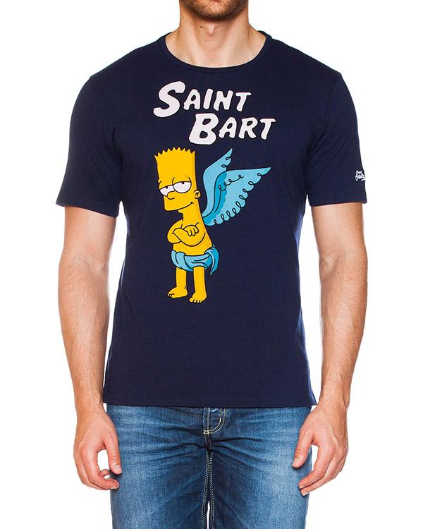 мужская футболка MC2 Saint Barth, сезон: лето 2015. Купить за 5000 руб. | Фото $i