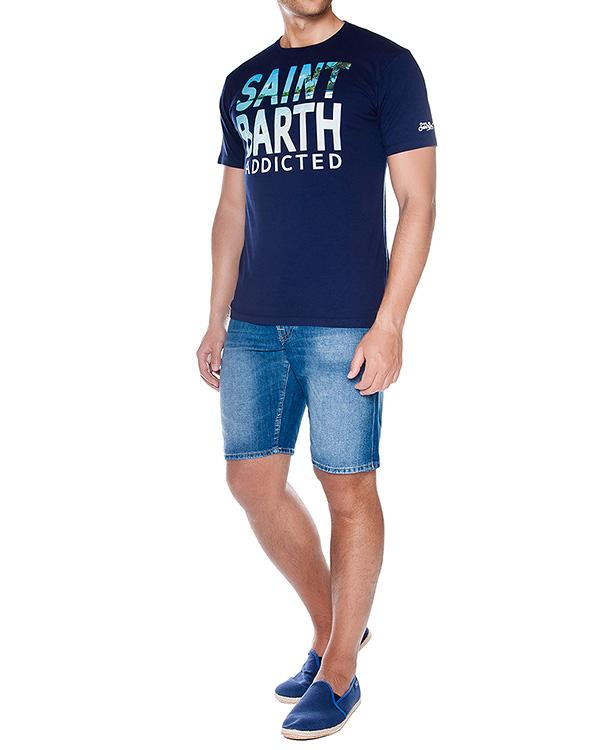 мужская футболка MC2 Saint Barth, сезон: лето 2016. Купить за 4400 руб.   Фото $i