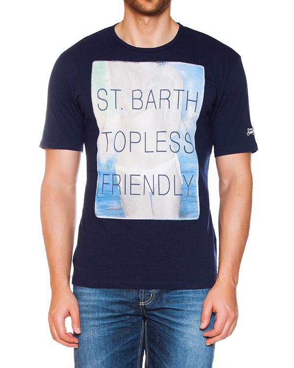 футболка  артикул TSHIRTMAN-TPL61 марки MC2 Saint Barth купить за 5000 руб.