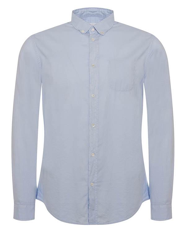 рубашка из хлопка классического кроя артикул UC168 марки DONDUP купить за 6600 руб.