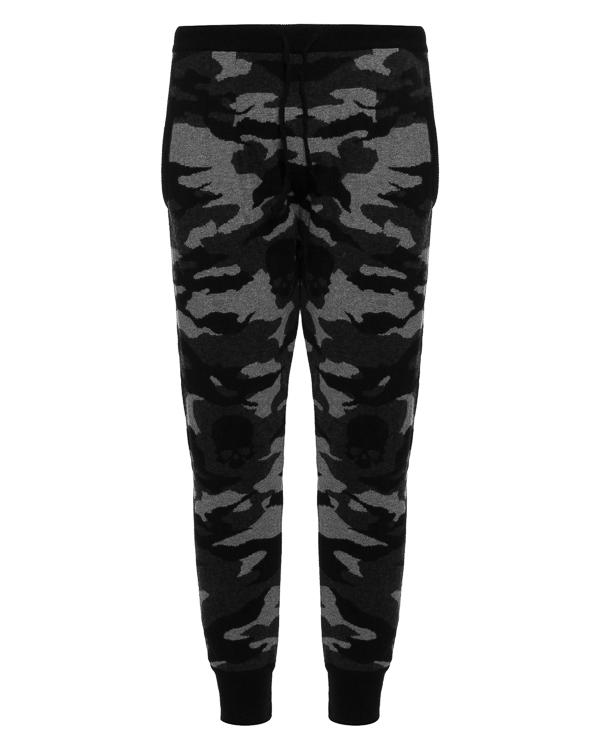 брюки спортивного кроя из шерсти с камуфляжным принтом артикул UCCAMOPANCB марки Gemma H купить за 13200 руб.